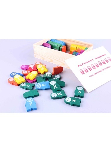 ABC Domino Wooden Set-Wooden Toys